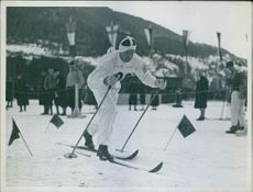 Hjalmar Bergström Cross-country skiing at the 1936 Winter Olympics - 50 km, 1936.
