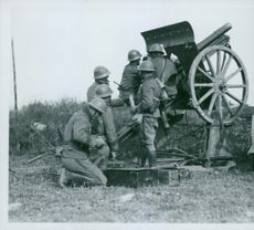 Military field maneuvers 1932 and earlier