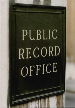 Public record office in central London. Here you will find Nelson's correspondence