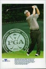 The American golfer Jack Nicklaus during the PGA tournament.