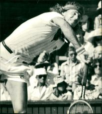 Björn Borg in action