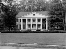 White Georgia House.