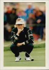 Lotta Neuman during the Solheim Cup.