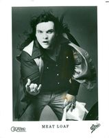 Portrait picture of the singer Meat Loaf.