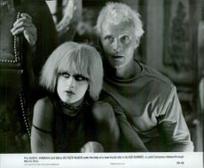 Daryl Hannah and Ruthger Hauer