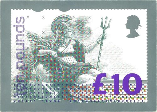 A Royal Mail Stamp Card Series.