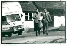 Politician Charles Prior in election canvassing