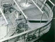 The Maritime Museum: Aeolus, the aft deck with the crosses