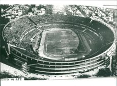 Football. World Cup 1978 Argentina. The new stadium in Buenos Aires