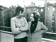 Fillie Lyckow and Marja Entrich