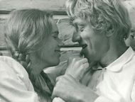 Liv Ullmann and Max von Sydow in the Emigrants