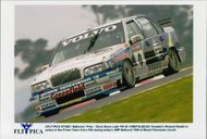 Rickard Rydell in action during AMP Bathurst on Mount Panorama Banana.