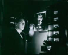"""A photo of Tony (Jean Servais)  in the film """"Rififi"""" - 1955"""