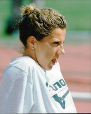 Goodwill Games in Saint Petersburg. Sally Gunnell (GBR), 400m hedge
