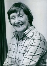 Portrait of British politician Mrs. Shirley Williams, M.P., 1978.