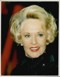 Portrait image of the actress Tippi Headren taken in an unknown context.