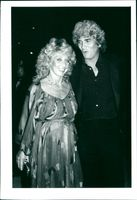 """Michael and Cindy Landon on the opening night of """"Zorba"""""""