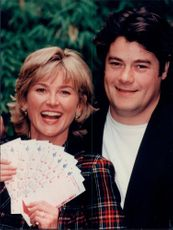 Anthea Turner and Gordon Kennedy won in the National Lottery.