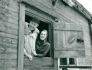 Max von Sydow and Liv Ullman