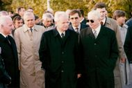Slobodan Milosevic at funeral
