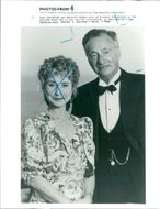 Paul Eddington with felicity kendal.