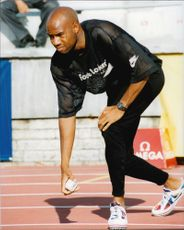Goodwill Games Saint Petersburg. Mike Powell (USA), long jump
