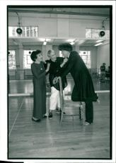 Dance: Sophie Maslow, Jane Dudley and Betram Ross.
