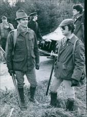 King Carl Gustaf on hunt