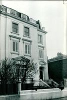 The house in Hyde park gate.