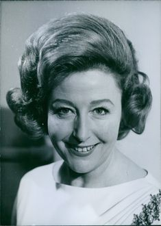 1964 Portrait of Prermanent Vocalist with The Billy Cotton Band Show on B.B.C. radio Kathie Kay.