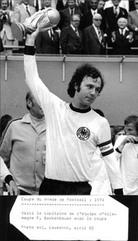 Franz Beckenbauer, Football Player, Germany