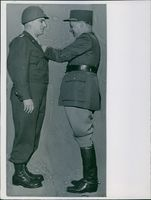 U.S. Generals Honored by French.