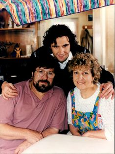 Ricky Tomlinson, Stephen McGann and Anne Reid at the set of, Where the Buffalo Roam.