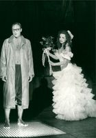 March or Love Spies on Stockholm City Theater 1989 with Lars Goran Persson and Viveka Seldahl