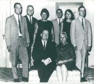 hubert humphrey and other people.