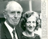 Sir Alec Douglas-Home with wife Elizabeth