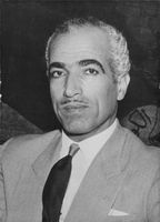 Portrait of Ahmed Mohammed Yihiya.