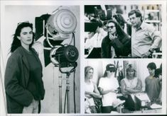 Director Kathryn Bigelow and Cinematographer Donald Peterman on the set of the film Point Break.