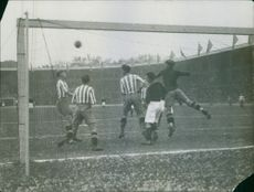 AIK playing Gotaborg 1931