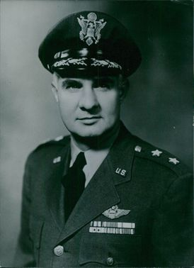 Major General Frank F.Everest in a portrait.