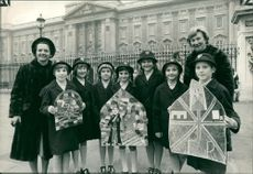 Schools 1970-1979:Seven girls from stormont school.