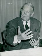 Maurice Chevalier in Stockholm