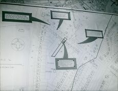 A view of map of city.