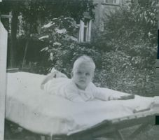 Elsa Brandstrom's child Brita. Photo taken in 1934.