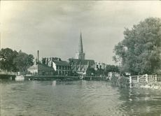 A favorite view of abingdon.