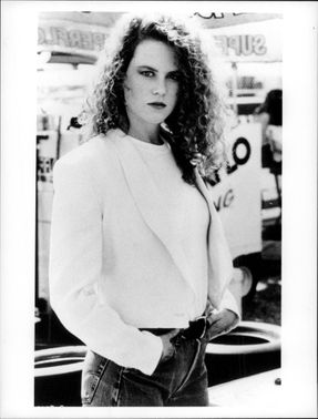 "Nicole Kidman in the movie ""Days of Thunder""."