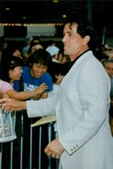 "Sylvester Stallone attends the premiere of ""Saving Privae Ryan"""