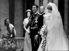 """Charles and Diana's wedding"" on Madame Tussaud's wax cabinet"