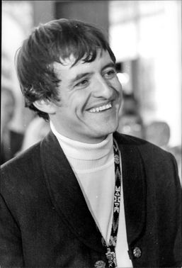 Portrait image of actor Henry Darrow taken at the press conference at Park Hotell.