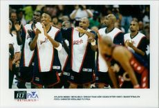 """USA """"Dream Team"""" makes the wake after winning in the basketball finals against Angola"""